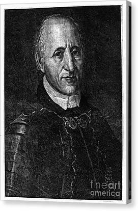 Fran�ois Coulon De Villiers Canvas Print by Granger