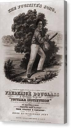 Frederick Douglass 1818-1895 Canvas Print by Everett