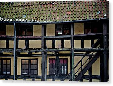 Freehand Architecture Canvas Print by Odd Jeppesen