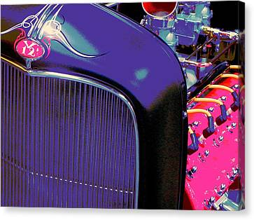 Frenchys Rod Canvas Print by Chuck Re