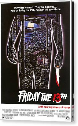 Friday The 13th, 1980 Canvas Print by Everett