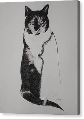 Friend II Canvas Print by Patsy Sharpe