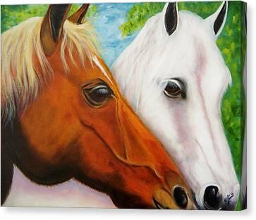 Friends Canvas Print by Joni McPherson