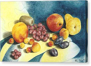 Fruit Canvas Print by Helene Schmittgen
