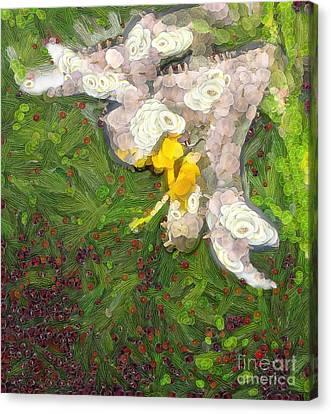Fruit Lily Canvas Print by Odon Czintos