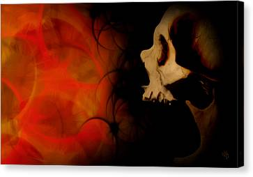 Frustration Canvas Print by Vic Weiford