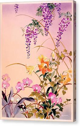 Fuji & Juri Canvas Print by Haruyo Morita