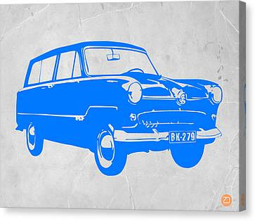 Funny Car Canvas Print by Naxart Studio