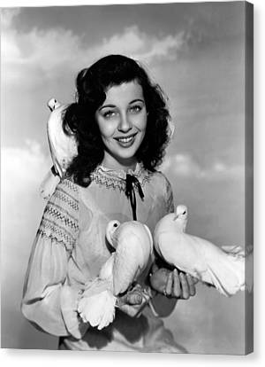 Gail Russell, 1944 Canvas Print by Everett