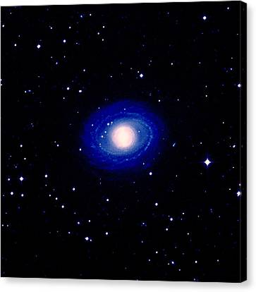 Galaxy Ngc 1398 Canvas Print by Celestial Image Co.
