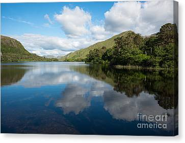 Galway Reflections Canvas Print by Andrew  Michael