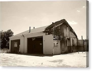 Garage No More Canvas Print by Nina Fosdick