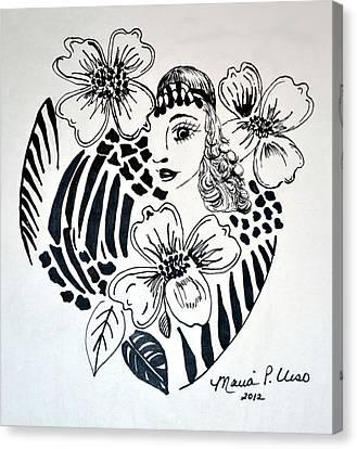 Garden Of Eve Canvas Print by Maria Urso