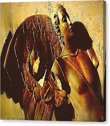 Gardian Angel Canvas Print by Yvon van der Wijk