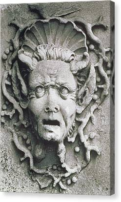 Gargoyle Canvas Print by Simon Marsden