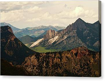 Gateway To Yellowstone National Park Canvas Print by Flash Parker