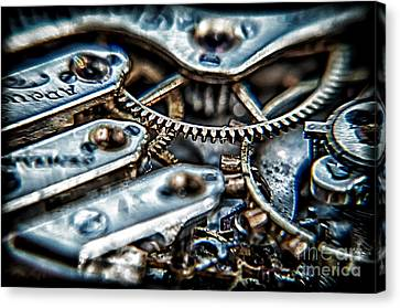 Gears Of Time Canvas Print by Noah Graham