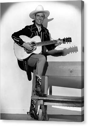 Gene Autry, 1940s Canvas Print by Everett