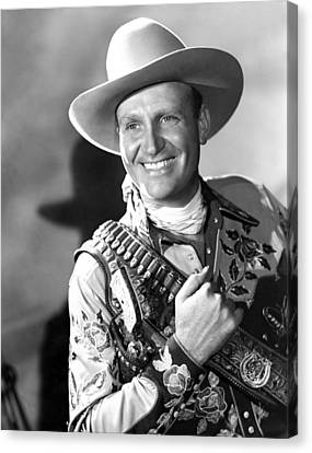 Gene Autry, Ca. 1946 Canvas Print by Everett