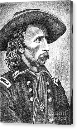 General Custer Canvas Print by Gordon Punt
