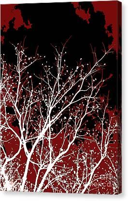 Genesis Canvas Print by Glennis Siverson