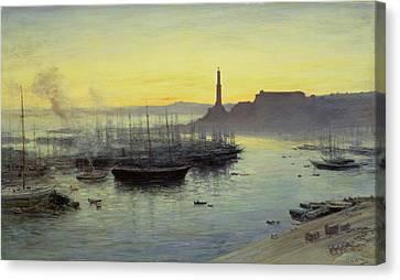 Genoa Canvas Print by John MacWhirter