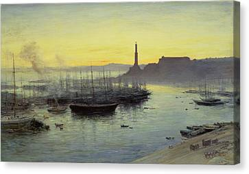 Genoa Canvas Print by John MacWhirter