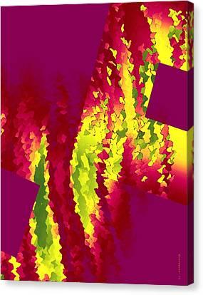 Geometric Art Designs Canvas Print by Mario Perez