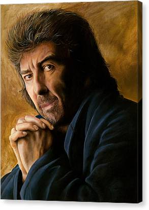 George Canvas Print by Douglas Fincham