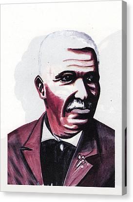 Georges Washington Carver Canvas Print by Emmanuel Baliyanga