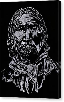 Geronimo Canvas Print by Jim Ross