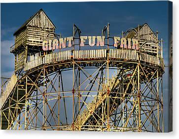 Giant Fun Fair Canvas Print by Adrian Evans