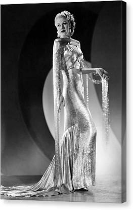 Ginger Rogers, Ca. 1930s Canvas Print by Everett