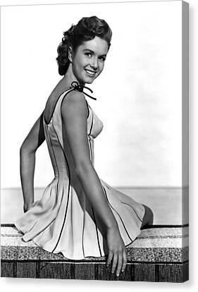 Give A Girl A Break, Debbie Reynolds Canvas Print by Everett
