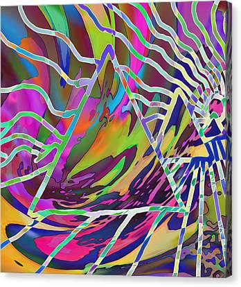Giza Canvas Print by Kevin Caudill