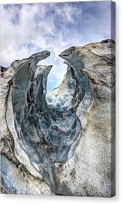 Glacier Impression Canvas Print by Andreas Hartmann