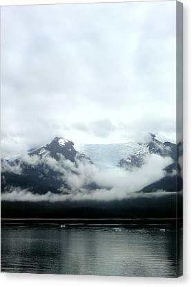 Glacier Mountain Canvas Print by Mindy Newman