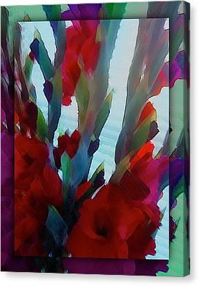 Canvas Print featuring the digital art Glad by Richard Laeton