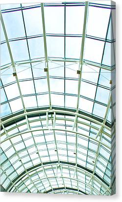 Glass Roof Canvas Print by Tom Gowanlock