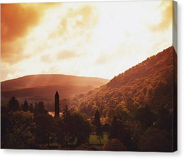Glendalough, County Wicklow, Ireland Canvas Print by The Irish Image Collection