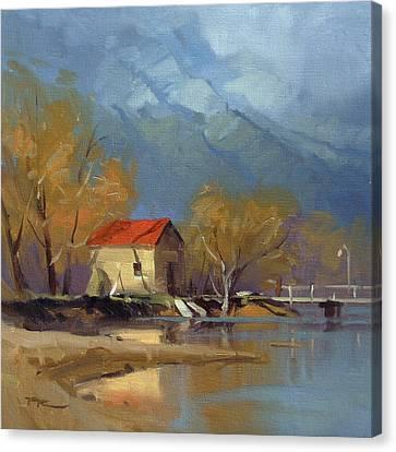 Glenorchy Canvas Print by Richard Robinson