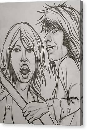 Glimmer Twins Canvas Print by Pete Maier