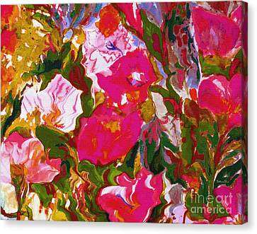 Glorious Canvas Print by Beth Saffer