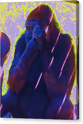 Go Ape Canvas Print by Todd Sherlock