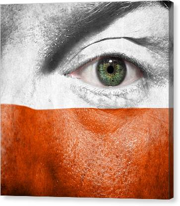 Go Poland Canvas Print by Semmick Photo
