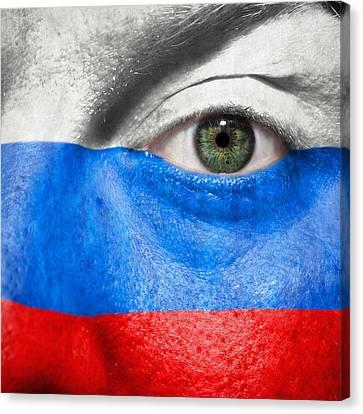 Go Russia Canvas Print by Semmick Photo