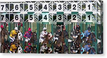 Go Time Canvas Print by Betsy C Knapp