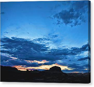 Goblin Valley Sunset Canvas Print by Gregory Scott