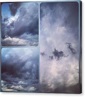 God Is The Ultimate Painter... #nature Canvas Print by Kel Hill