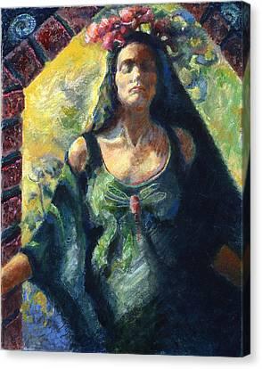 Going Within Canvas Print by Ellen Dreibelbis